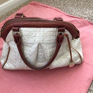 Brahmin Tan & Brown Bag